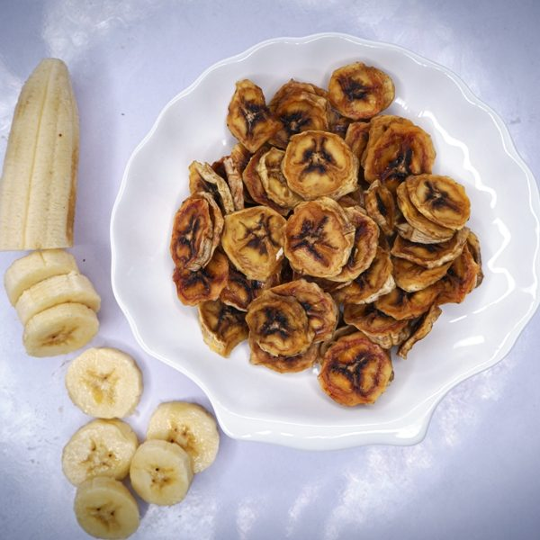 Chewy Dried Banana Chips